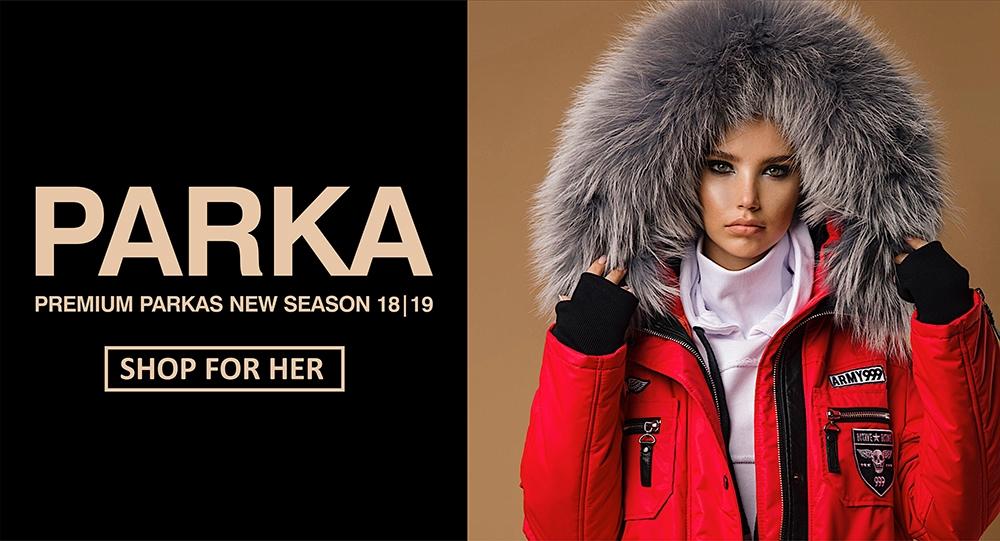Интернет Магазин Одежды Парки Женские